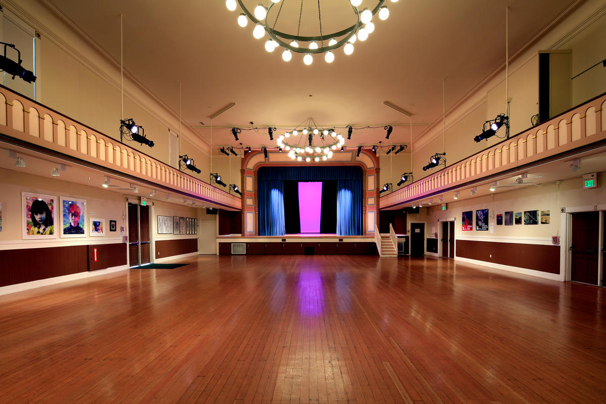 Interior of Bayview Opera House