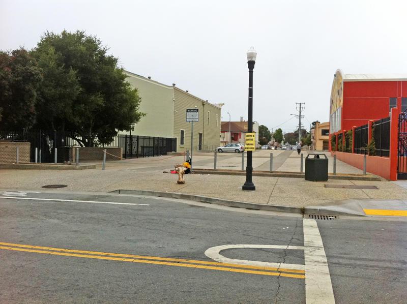 Former BVOH parking lot