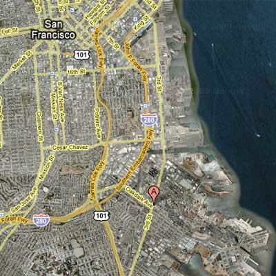 Map surrounding BVOH