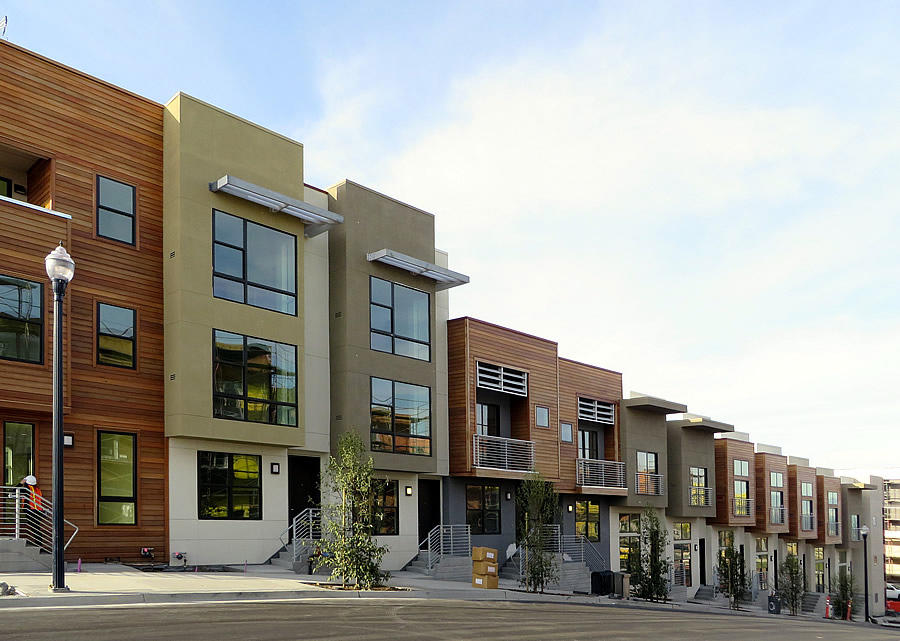 New residential development at the Hunters Point Shipyard