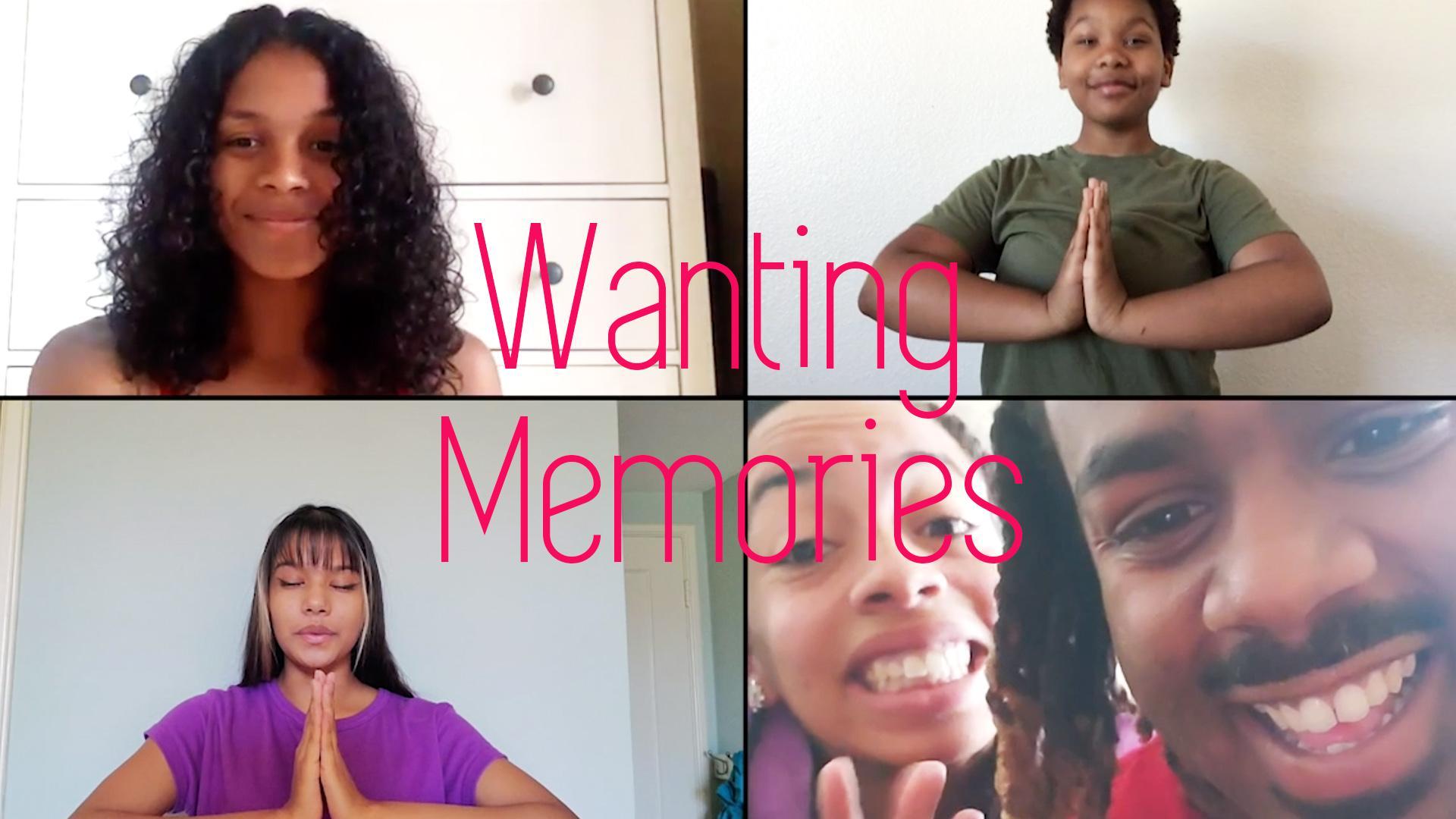 Wanting Memories Header