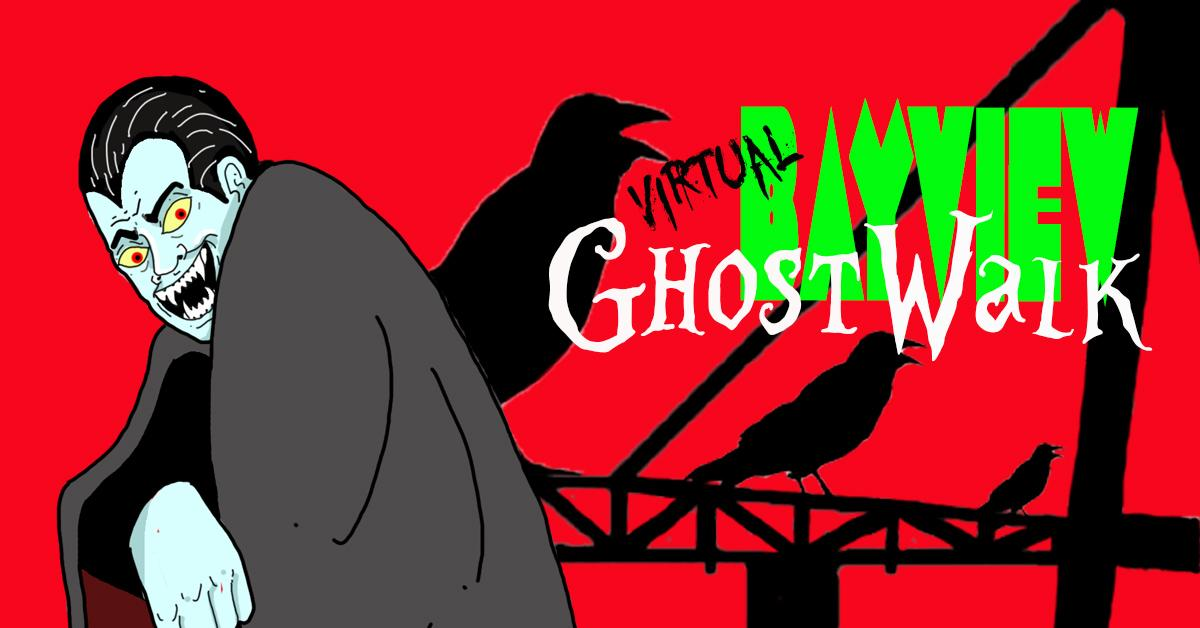 Revisit BVOH's Virtual Ghost Walk! A spooky scary virtual event featuring collaborations with CYC Bayview Youth Advocates, Campo Santo, Bennett Fisher and dancers from PUSH Dance Company!