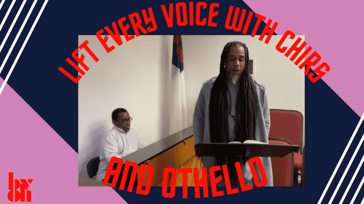 Lift every voice with Chris